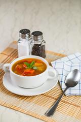 Vegetable soup (Borscht)