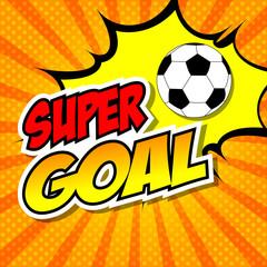 Super goal comic.