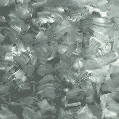 Abstract black and white gouache background