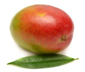 Mango with leaf