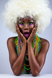 Fototapety dark skinned beauty