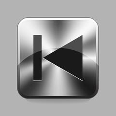 Metallic buton