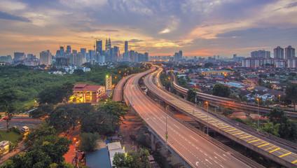 Scene of Kuala Lumpur