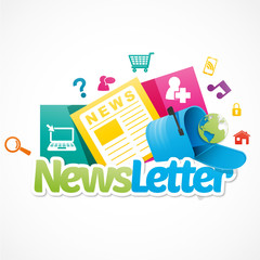 newsletter et application internet
