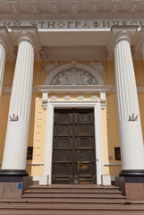 Russian Museum of Ethnography (1912) entrance in Saint Petersbur