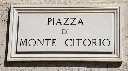 Piazza di Monte Citorio