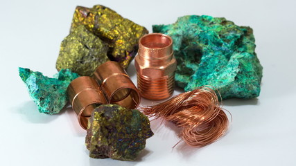 Copper Minerals Finished Product Dolly In