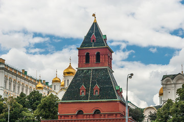 Moscow Kremlin Building in summer time