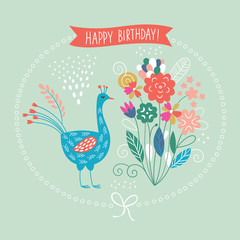 happy birthday card, greeting card