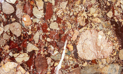 Bloody stone texture for natural abstract background