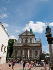 The Church of Saints Peter and Paul in Krakow
