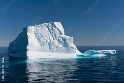 Plexiglas Poolcirkel Iceberg in Disko Bay, Ilulissat, Greenland