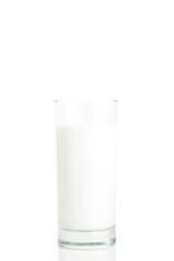 Glass of Milk - CLIPPING PATH -