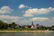 canvas print picture - Rodenkirchen am Rhein