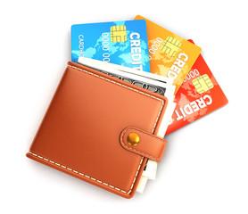 3d wallet