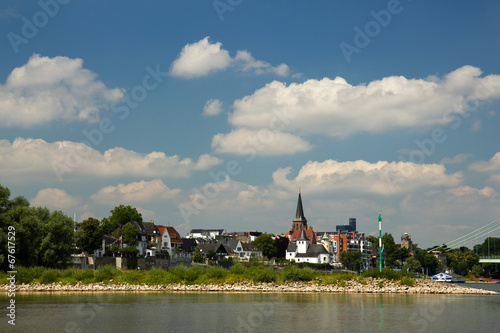 canvas print picture Rodenkirchen am Rhein