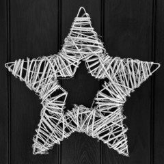Sliver Star Wreath