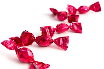 Verpackte Süßigkeiten
