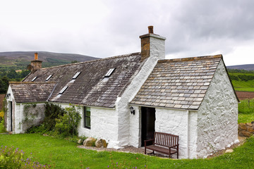 Old traditional Scottish house