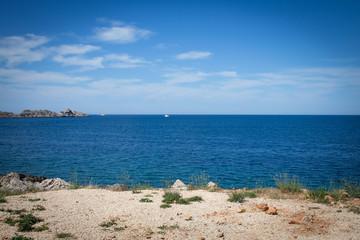 Coast landscape in Dalmatia, Croatia