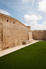 Main wall to Mdina in Malta