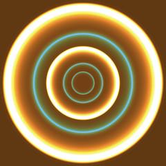fiery circles