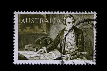 Briefmarke_Australia_James Cook