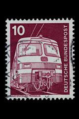 Briefmarke_Deutschland_Triebfahrzeug