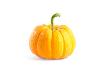 Decorative orange pumpkin