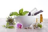 Fototapety complements alimentaires à base de Fleurs et plante médicinales