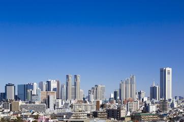 快晴青空 新宿高層ビル群・全景イメージ