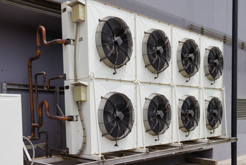 compressor unit of air conditioner .