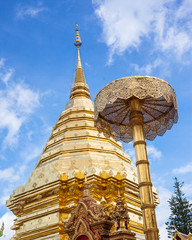 Wat Phra That Doi Suthep is tourism of Chiang Mai, Thailand.