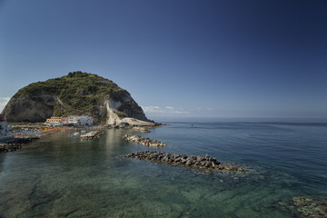 View of Sant'Angelo in Ischia Island