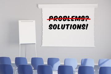 Lösungen statt Probleme im Seminar
