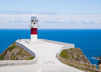 Ortegal lighthouse in Galicia, Spain