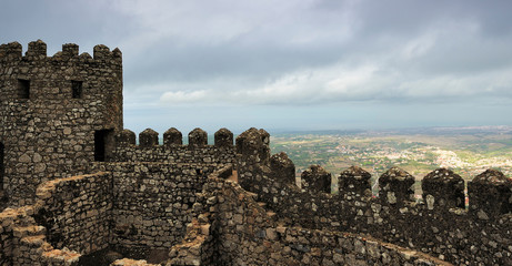 The Castle of the Moors, Sintra, Portugal