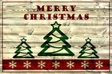 Merry Christmas / Weihnachtskarte