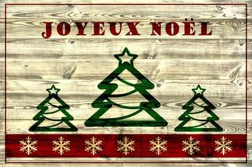 Joyeux Noël / Weihnachtskarte