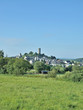 Leinwanddruck Bild - Urlaubsort Hartenfels im Westerwald nahe Selters
