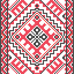 Embroidery.Ukrainian national ornament