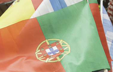 Flag of Lisbon and Spain