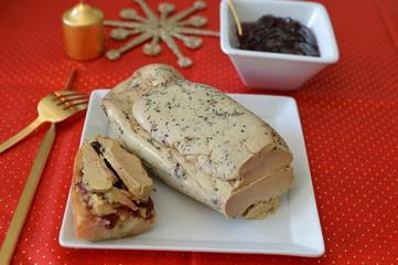 Foie gras et confiture de figues