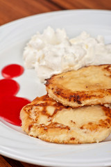 Cheese pancakes