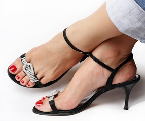 Woman`s fashion sandals