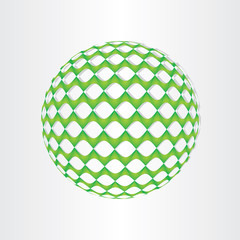 christmas green decoration ball