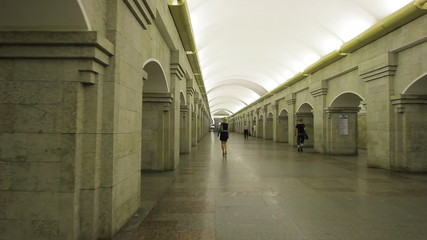 Subway station Krestovsky Ostrov