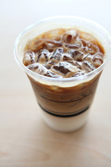 ice latte coffe