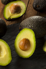 Organic Raw Green Avocados
