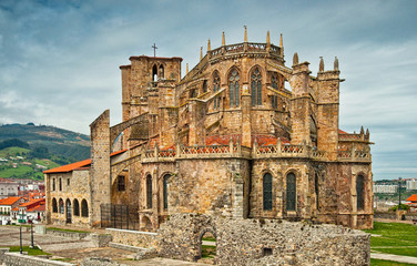Church of St. Mary of the Assumption in Castro Urdiales, Spain